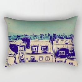 Roofs Rectangular Pillow