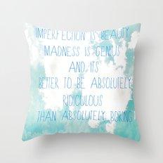 Imperfection Throw Pillow