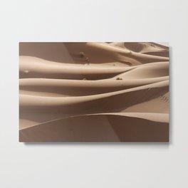 Sahara Dunes Metal Print