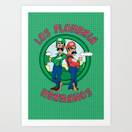 The Brother's Plumbing Art Print