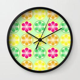 Citrus Party Wall Clock