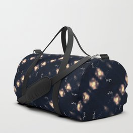Dancing stars pattern Duffle Bag