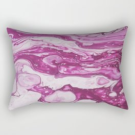 Magenta Depths Rectangular Pillow