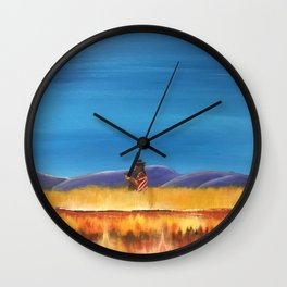 Gaucho at the Blood River Wall Clock