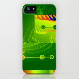 Great Green Frac 3 iPhone Case