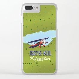 Issyk-Kul Kyrgyzstan lake Clear iPhone Case