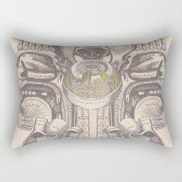 Anatomy Collage 2 Rectangular Pillow