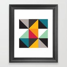 Triangles # 2 Framed Art Print