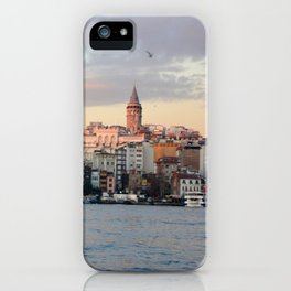 Sunset in Istanbul  iPhone Case
