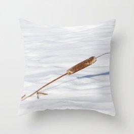 Cattails 3 Throw Pillow
