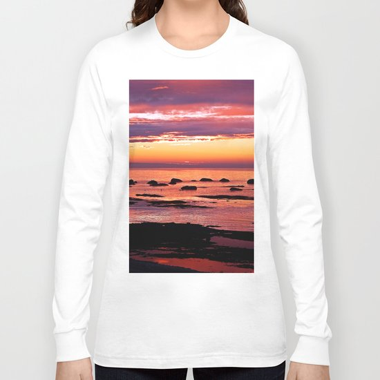 Sainte-Anne-Des-Monts Signature Sunset Long Sleeve T-shirt