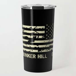 USS Bunker Hill Travel Mug
