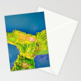 Look at life through the windshield, not the rearview mirror. Stationery Cards