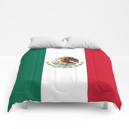 Flag of Mexico - Authentic Scale and Color (HD image) Comforters