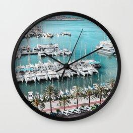 Yacht Promenade Wall Clock