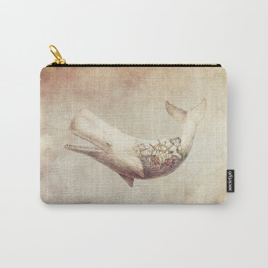 Far and Wide (sepia option) Carry-All Pouch