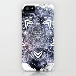 CANCER CONSTELLATION MANDALA iPhone Case
