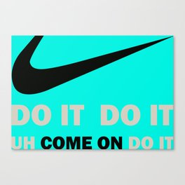 "Starsky & Hutch ""Uh come on, do it"" with gran torino sign Canvas Print"
