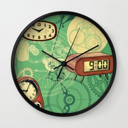 TIC TAC TIME Wall Clock