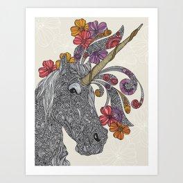 Unicornicornicopia Art Print