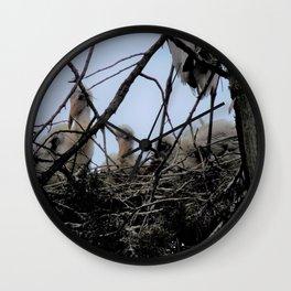 Dinosaur  Nest Wall Clock