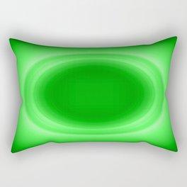 Neon Green Glow Rectangular Pillow
