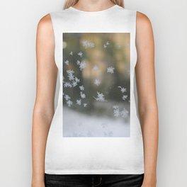 """It's frosty """"Ice Flower"""" #1 #art #society6 Biker Tank"""