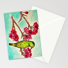 Japanese White-Eye Stationery Cards