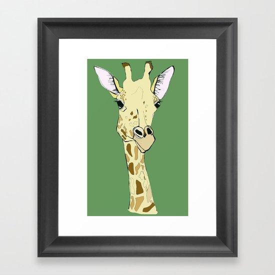 G-raff Framed Art Print