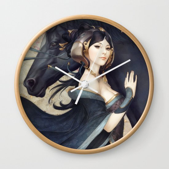 Pepper Empress Wall Clock