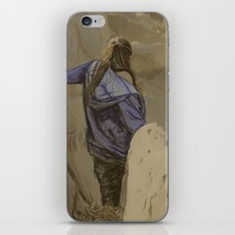 Hiking in the Desert iPhone Skin