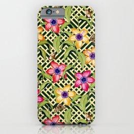 Intricate Garden iPhone Case