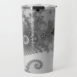males mandelbrot abstract Travel Mug