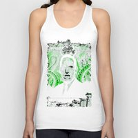 lovecraft Tank Tops featuring Mr. Lovecraft by Robert Hoops