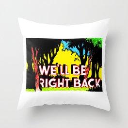brb Throw Pillow