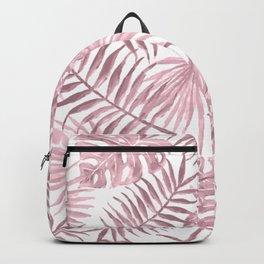 Pink Tropical Vines Backpack