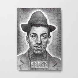 Guido The Gangster Metal Print