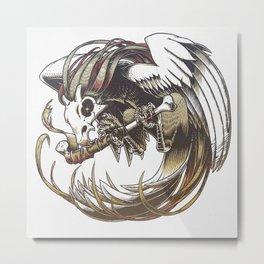 Cueot Metal Print