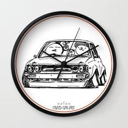 Crazy Car Art 0014 Wall Clock