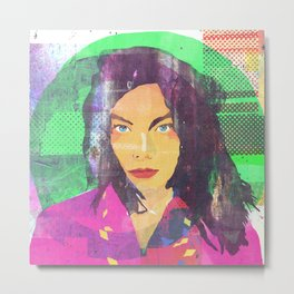 The fuc.... Björk Metal Print