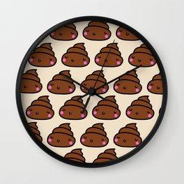 Poop Wall Clock