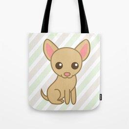 Pinky the Chihuahua  Tote Bag