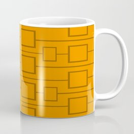 Burnt Orange Squared Coffee Mug