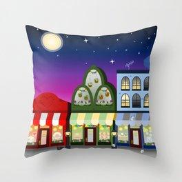 RGB Shoppes Throw Pillow