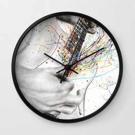 The Guitar Solo Wall Clock