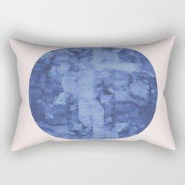 Minimalist watercolor and fashion I Rectangular Pillow