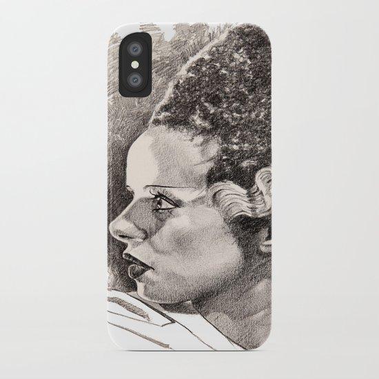 The bride of frankenstein elsa lancaster iPhone Case