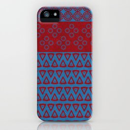 Japanese Style Bohemian Pattern iPhone Case