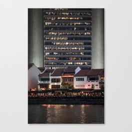 Architectual Antagonisms Canvas Print