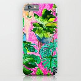 Indoor Jungle 4 iPhone Case
